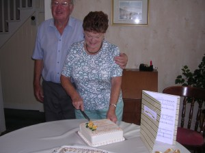 Mum, dad, cake and song